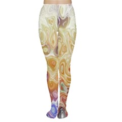 Space Abstraction Background Digital Computer Graphic Women s Tights