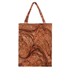 3d Glass Frame With Fractal Background Classic Tote Bag