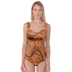 3d Glass Frame With Fractal Background Princess Tank Leotard