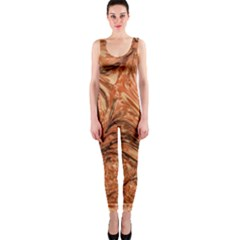 3d Glass Frame With Fractal Background OnePiece Catsuit