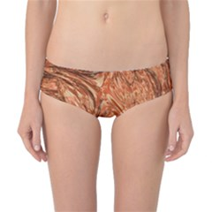 3d Glass Frame With Fractal Background Classic Bikini Bottoms