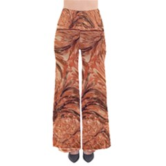 3d Glass Frame With Fractal Background Pants