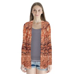 3d Glass Frame With Fractal Background Cardigans