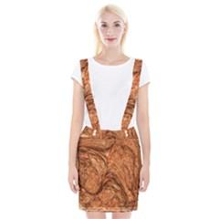 3d Glass Frame With Fractal Background Suspender Skirt