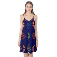 Abstract A Colorful Modern Illustration Camis Nightgown