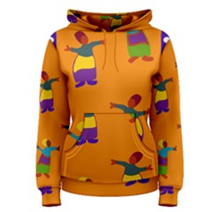 A Colorful Modern Illustration For Lovers Women s Pullover Hoodie