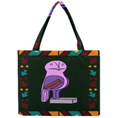 Owl A Colorful Modern Illustration For Lovers Mini Tote Bag