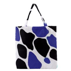 Digital Pattern Colorful Background Art Grocery Tote Bag