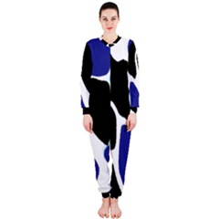 Digital Pattern Colorful Background Art Onepiece Jumpsuit (ladies)