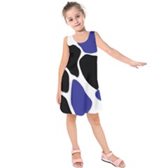 Digital Pattern Colorful Background Art Kids  Sleeveless Dress