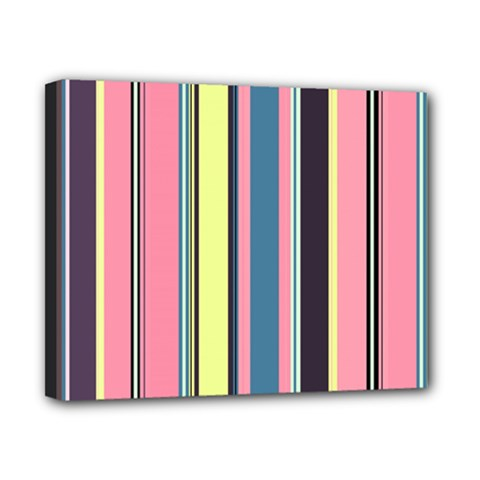 Seamless Colorful Stripes Pattern Background Wallpaper Canvas 10  X 8