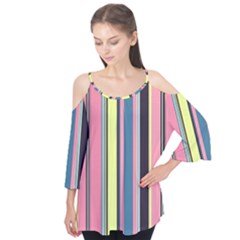 Seamless Colorful Stripes Pattern Background Wallpaper Flutter Tees