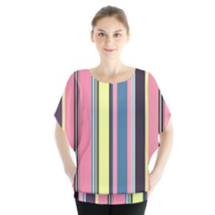 Seamless Colorful Stripes Pattern Background Wallpaper Blouse