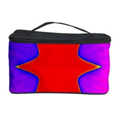 Pink Digital Computer Graphic Cosmetic Storage Case