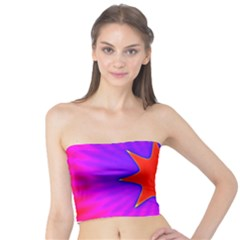 Pink Digital Computer Graphic Tube Top