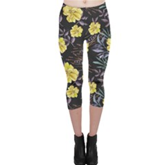 Wildflowers Ii Capri Leggings