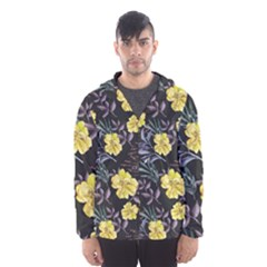 Wildflowers Ii Hooded Wind Breaker (men)
