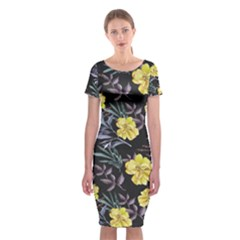Wildflowers Ii Classic Short Sleeve Midi Dress
