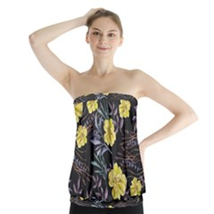 Wildflowers Ii Strapless Top