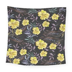 Wildflowers Ii Square Tapestry (large)
