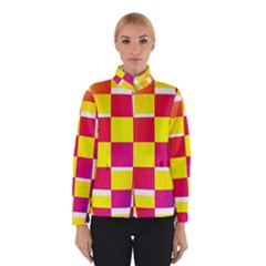 Squares Colored Background Winterwear