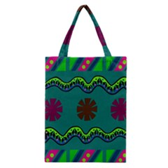 A Colorful Modern Illustration Classic Tote Bag