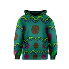 A Colorful Modern Illustration Kids  Pullover Hoodie