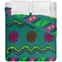 A Colorful Modern Illustration Duvet Cover Double Side (California King Size) View1