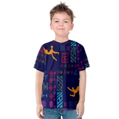 A Colorful Modern Illustration For Lovers Kids  Cotton Tee
