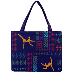 A Colorful Modern Illustration For Lovers Mini Tote Bag