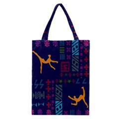 A Colorful Modern Illustration For Lovers Classic Tote Bag