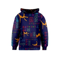 A Colorful Modern Illustration For Lovers Kids  Pullover Hoodie