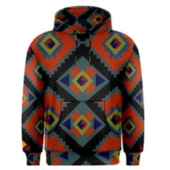 Abstract A Colorful Modern Illustration Men s Pullover Hoodie