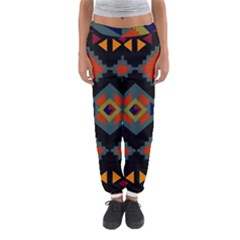 Abstract A Colorful Modern Illustration Women s Jogger Sweatpants