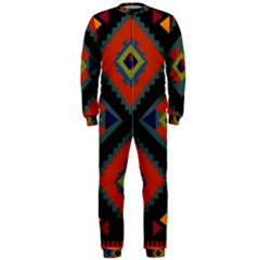 Abstract A Colorful Modern Illustration OnePiece Jumpsuit (Men)