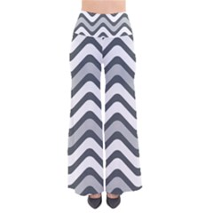 Shades Of Grey And White Wavy Lines Background Wallpaper Pants