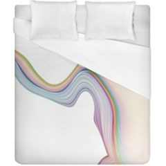 Abstract Ribbon Background Duvet Cover (california King Size)