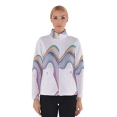 Abstract Ribbon Background Winterwear