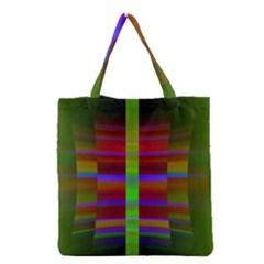 Galileo Galilei Reincarnation Abstract Character Grocery Tote Bag