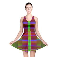 Galileo Galilei Reincarnation Abstract Character Reversible Skater Dress