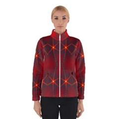 Impressive Red Fractal Winterwear
