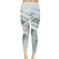 Business Background Abstract Leggings