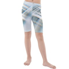 Business Background Abstract Kids  Mid Length Swim Shorts