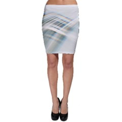 Business Background Abstract Bodycon Skirt