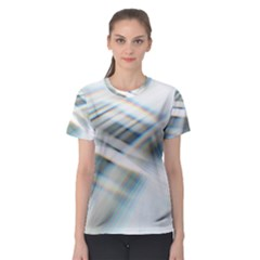 Business Background Abstract Women s Sport Mesh Tee