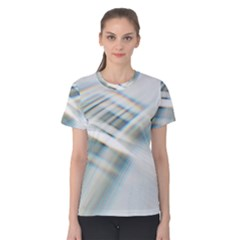 Business Background Abstract Women s Cotton Tee