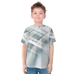 Business Background Abstract Kids  Cotton Tee