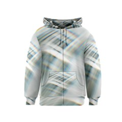 Business Background Abstract Kids  Zipper Hoodie