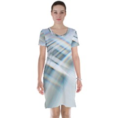 Business Background Abstract Short Sleeve Nightdress