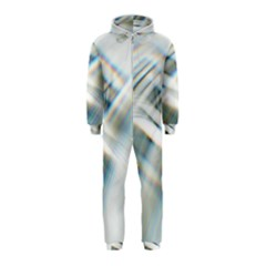 Business Background Abstract Hooded Jumpsuit (Kids)